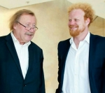 with professor P. Sloterdijk in Frankfurt, June 2014